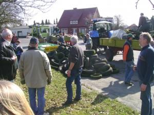 Müllsammeln der Vereine 2009