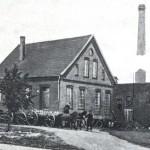 Molkerei und Elektrizitätswerk in Börger