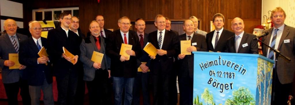 """Vorstellung Use Borger 2012 anläßlich des Kommersabend """"25 Jahre Heimatverein Börger"""" am 08. Dez. 2012"""