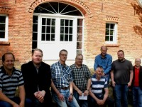 """Baubesprechung zu Beginn der Arbeiten """"Ausbau Zehntscheune Börger"""""""