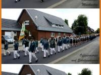 Marsch an Schützenfest - Sonntag, durch die Gemeinde