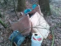Müll am Lohsand, wer kennt den Verursacher